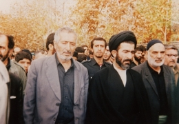 شهید سید ابوالقاسم موسوی دامغانی [... با مَردم]